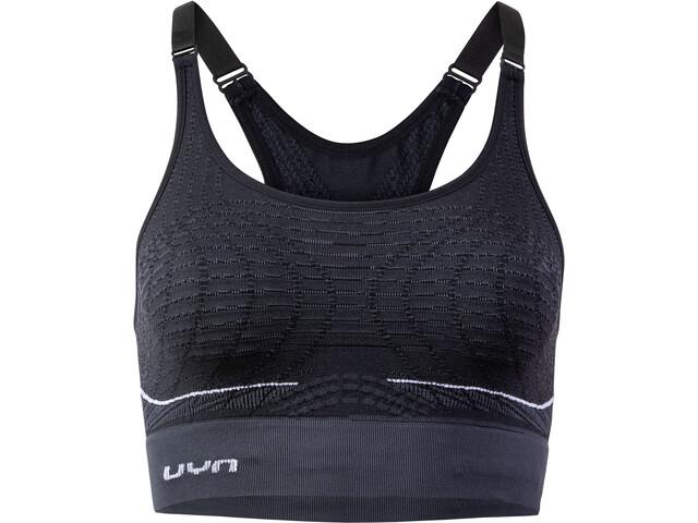 UYN Motyon UW Bra Medium Support Women, blackboard/white